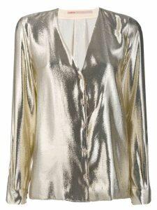 Indress metallic shirt - SILVER