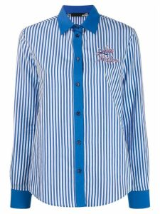 Love Moschino striped shirt - Blue