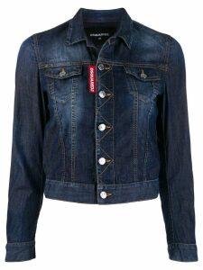Dsquared2 cropped denim jacket - Blue