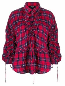 Dsquared2 check print shirt