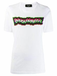 Dsquared2 3D-effect logo print T-shirt - White