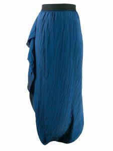 Poiret cocoon skirt - Blue