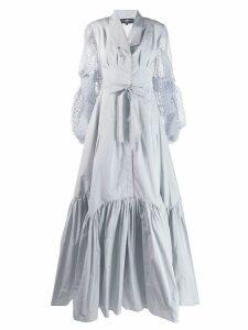 Avaro Figlio maxi shirt dress - Grey