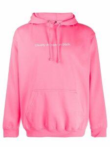 F.A.M.T. logo hoodie - Pink