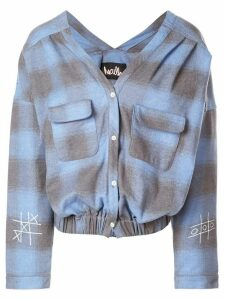 Haculla plaid blouse - Blue