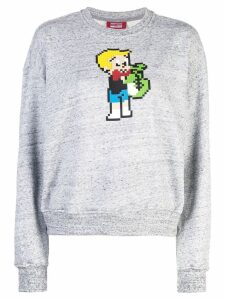 Mostly Heard Rarely Seen 8-Bit Richie sweatshirt - Grey