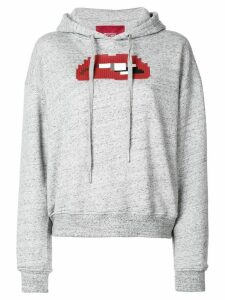 Mostly Heard Rarely Seen 8-Bit Anticipation hoodie - Grey
