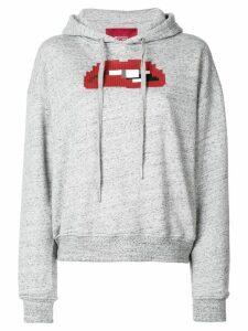 Mostly Heard Rarely Seen 8-Bit Anticipation hoodie - Grey