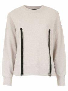 Uma Raquel Davidowicz Ana knitted jumper - NEUTRALS