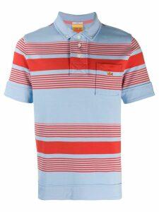 Lacoste Live striped polo shirt - Blue