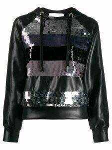 No Ka' Oi sequin embroidered hoodie - 173