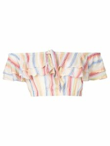 Suboo Playhouse Ruffled Crop Top - Multicolour