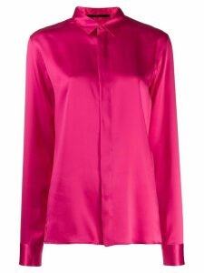 Haider Ackermann classic long-sleeved shirt - Pink