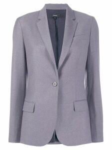 Theory classic one button blazer - Purple