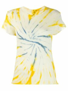 The Elder Statesman tie dye T-shirt - Yellow