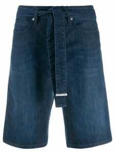 Cambio straight-leg denim shorts - Blue