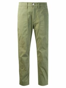3x1 Simone cropped trousers - Green