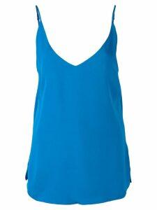 L'Agence plain vest stop - Blue