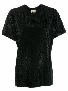 Alexandre Vauthier sparkle T-shirt - Black