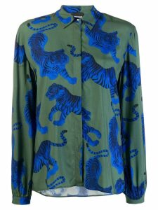 Just Cavalli tiger print shirt - Green