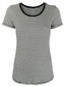 Majestic Filatures striped T-shirt - Black