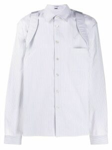 GmbH Suspender shirt - White