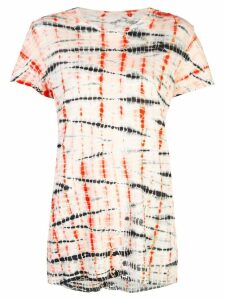 Proenza Schouler Tie Dye Short Sleeve T-Shirt - White