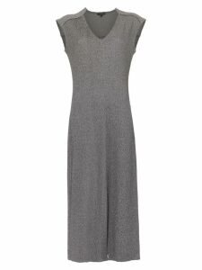 Alcaçuz Linear midi dress - Grey