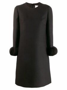 Valentino ornamental sleeve dress - 0no BLACK