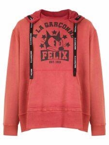 À La Garçonne oversized Felix sweatshirt À LA GARÇONNE + HERING -