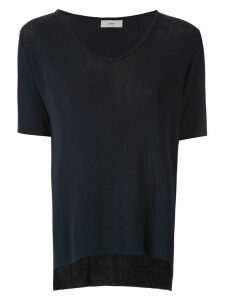 Egrey U neck T-shirt - Blue