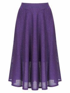 Cecilia Prado Iasmin midi skirt - Purple