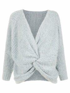 Cecilia Prado knit Isabelle blouse - Blue