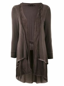 Mara Mac layered cardigan - Brown