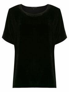Alcaçuz Lapis top - Black
