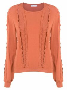 Nk knitted top - ORANGE