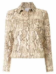 Nk animal print jacket - Neutrals