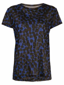 Proenza Schouler Painted Dot Short Sleeve T-Shirt - Black