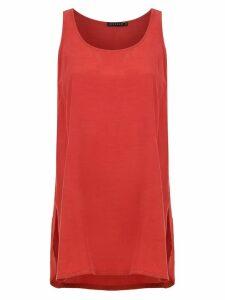 Alcaçuz Lamina blouse - Red