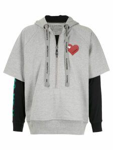 À La Garçonne À La Garçonne + Hering hoodie - Grey