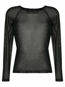 Gloria Coelho knit blouse - Black