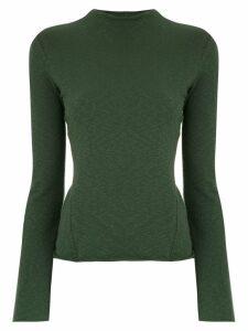 Osklen long sleeved top - Green