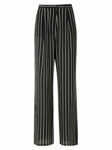 Adriana Degreas striped trousers - Black