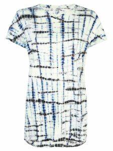 Proenza Schouler Tie Dye ShortSleeve T-Shirt - White