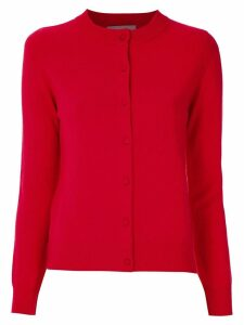 Egrey cashmere cardigan - Red