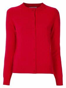 Egrey cashmere cardigan - Red
