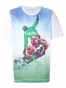 À La Garçonne GARÇONNE + OLYMPIKUS Snowboard t-shirt - White