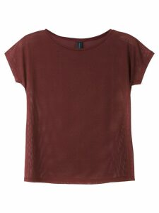 Lygia & Nanny Basic OL T-shirt - PURPLE