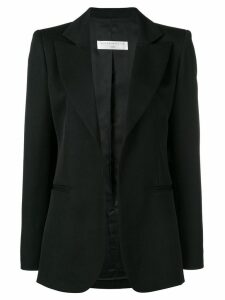 Victoria Beckham single breasted fitted jacket - Black