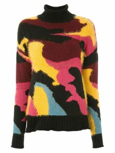 Cecilia Prado knitted printed sweater - Black